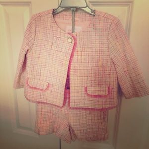 Janie and Jack girl's Pink Set, size 4